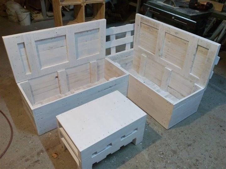 handmade pallet sectional sofa