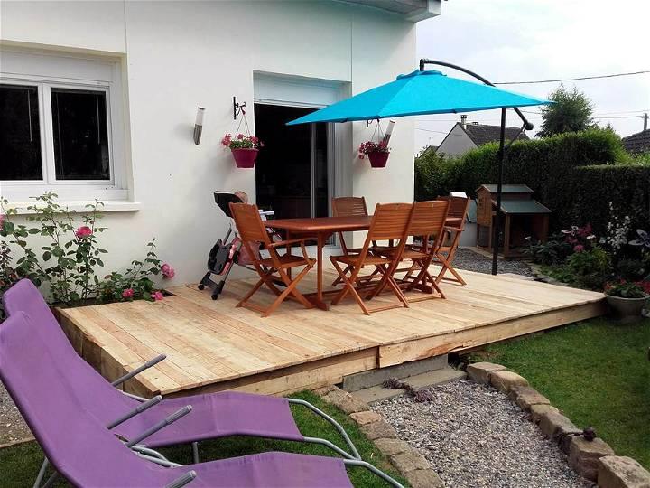 self installed pallet deck
