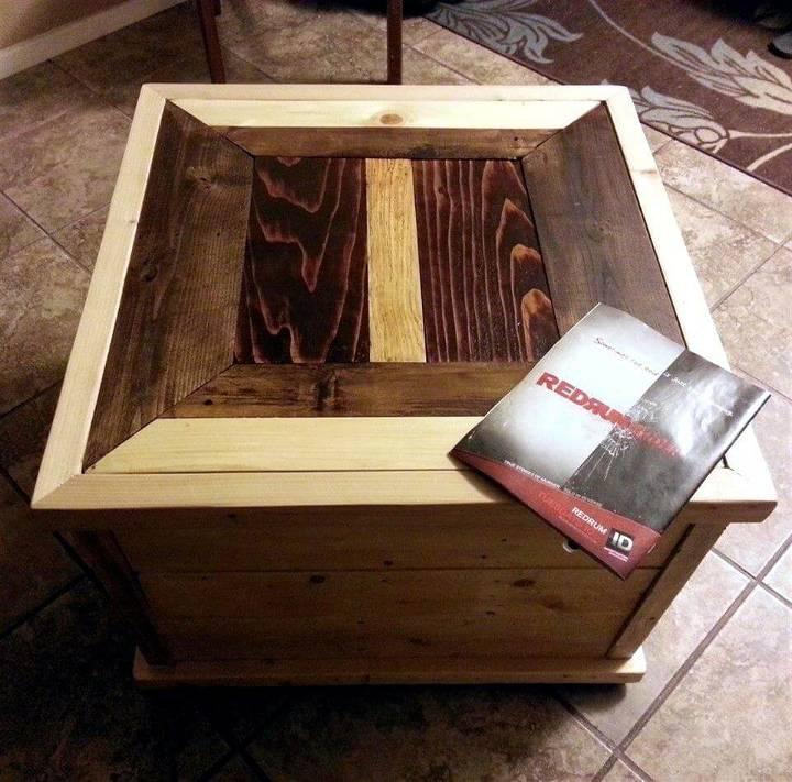 art style pallet mini coffee table