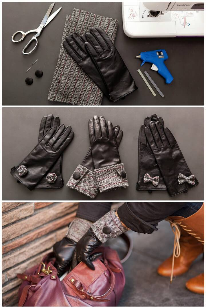 3 DIY ways to modernize your leather gloves