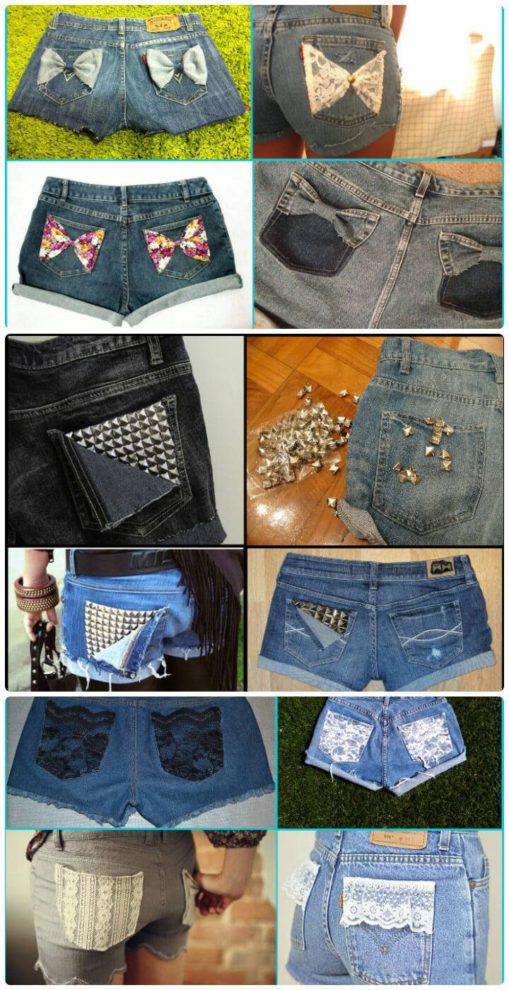 3 DIY ideas to customize your shorts