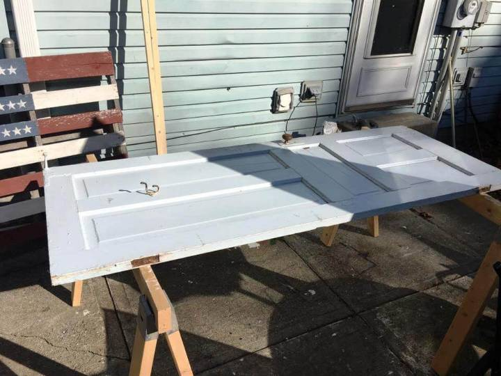 planning the door for bench dimensions