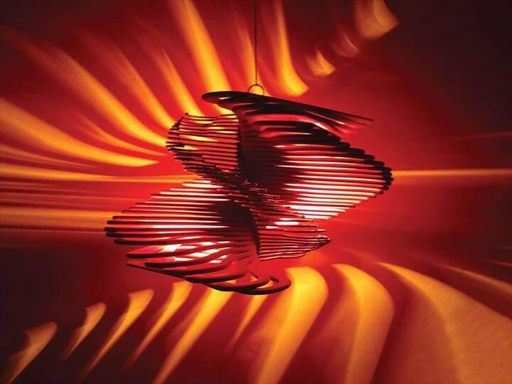 DIY creative hanger pendant lampshade