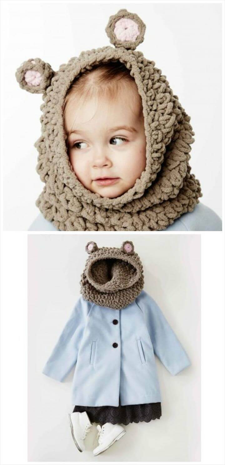 free baby snood and blanket pattern