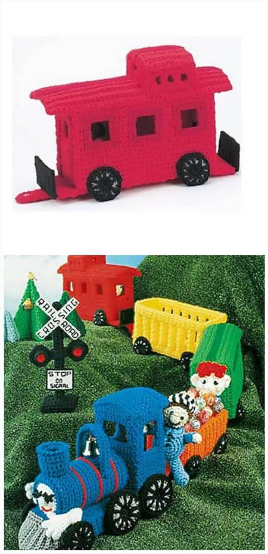 easy crochet choo choo train