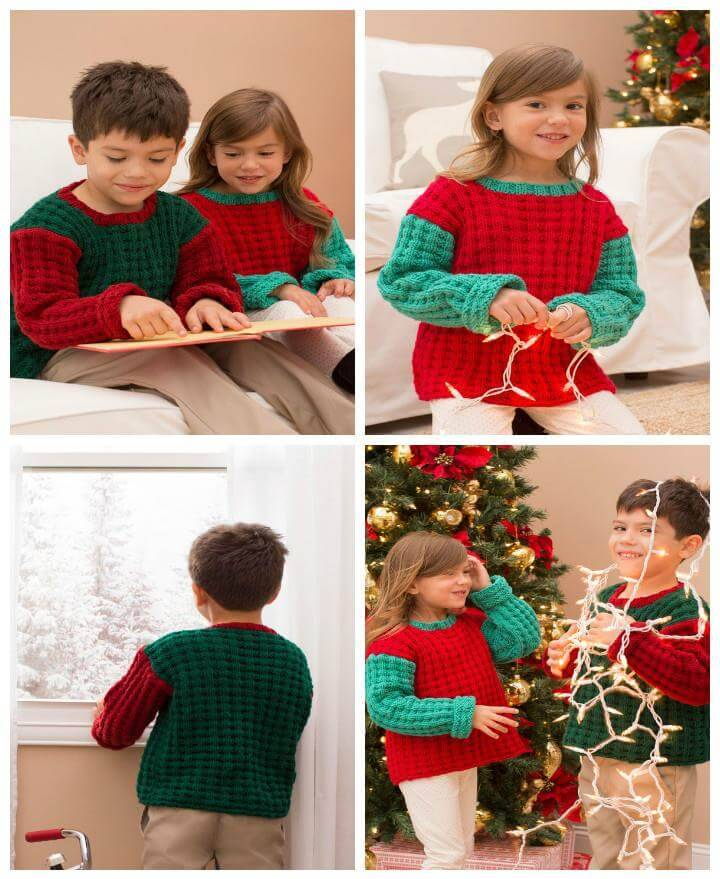 easy kids jolly sweaters