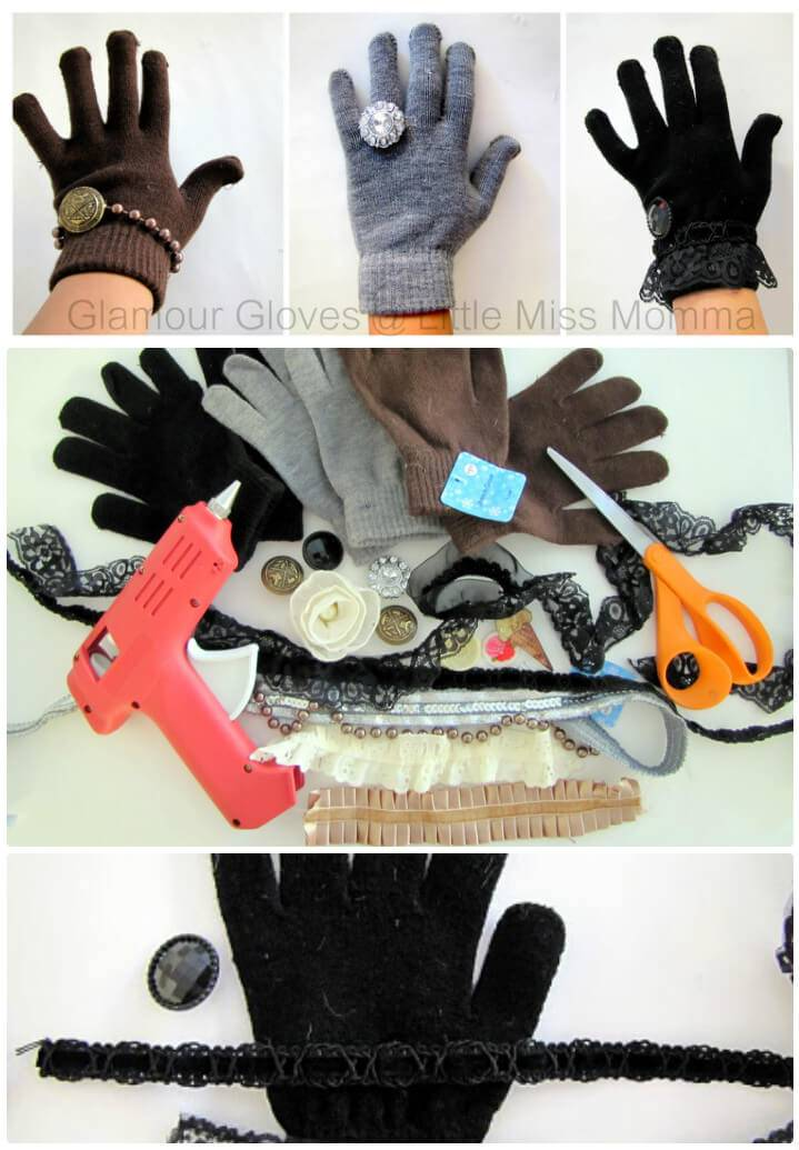 How to update your gloves for a glamor look