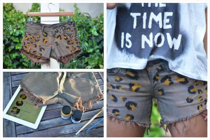 customized leaped summer shorts