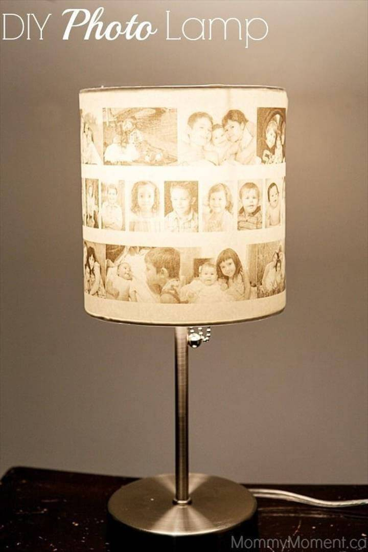Custom Photo Lampshade