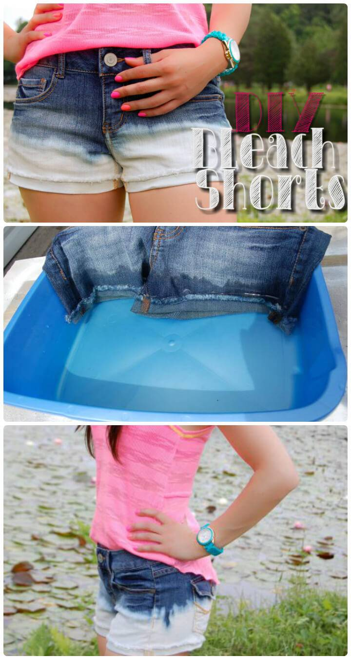 amazing bleached summer shorts for girls