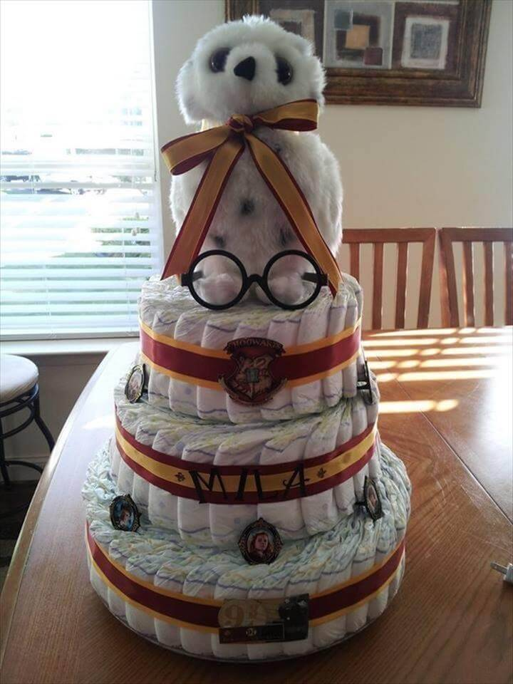 Harry Potter Baby Cake