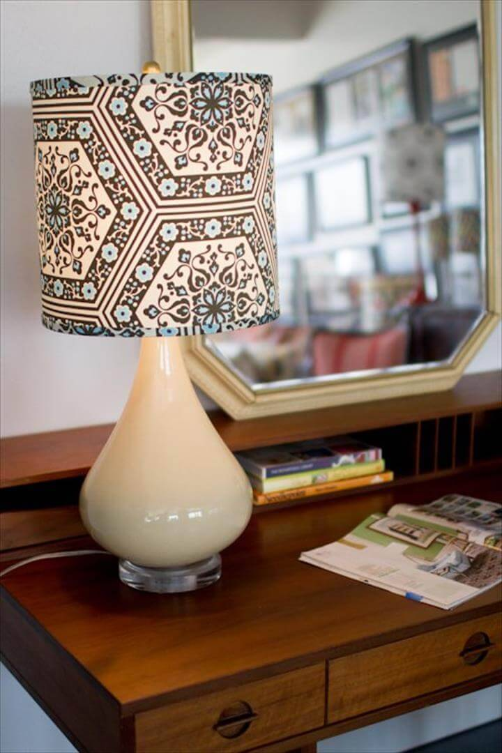 redesigned lampshade