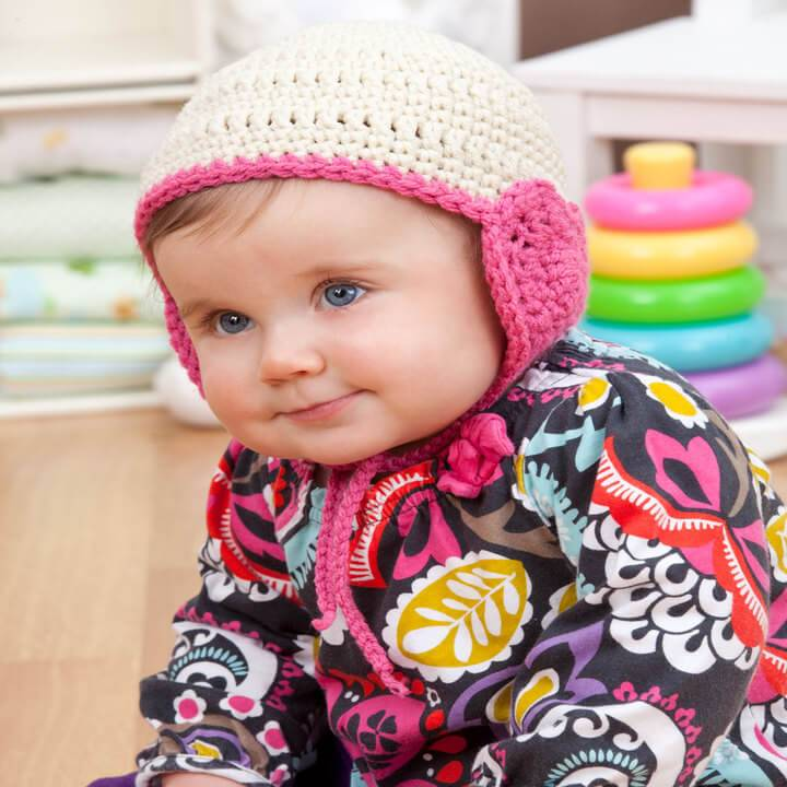 awesome baby crochet hat