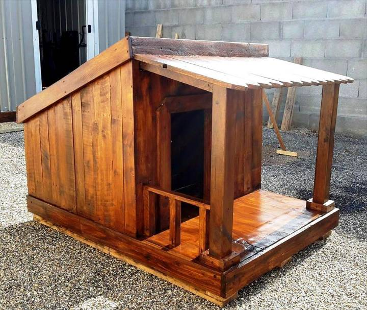Pallet dog house step by step plan diy crafts for Diy house plans