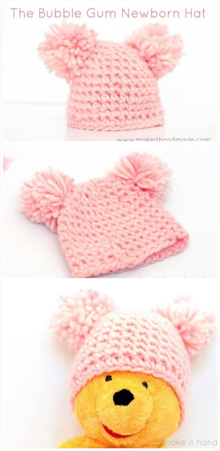 6 Month Crochet Hat