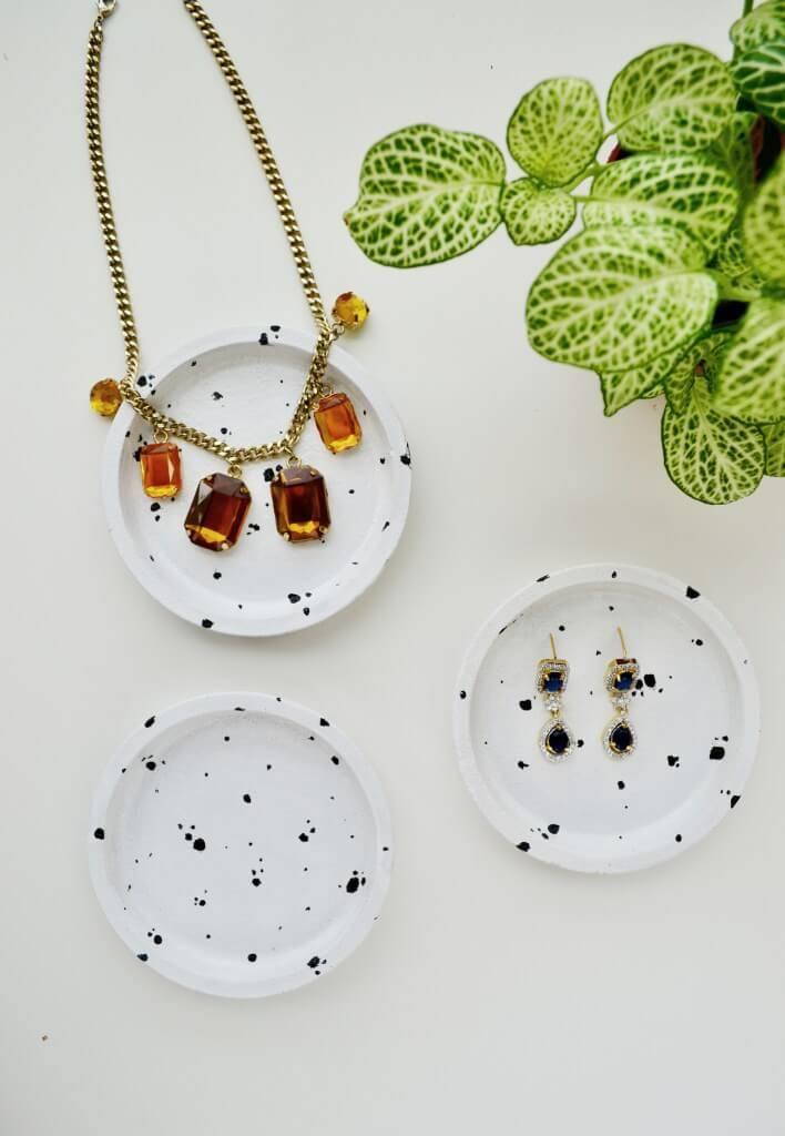 DIY ikea hack jewelry dish