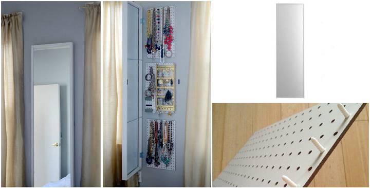 Ikea Hat Jewelry Storage Solution