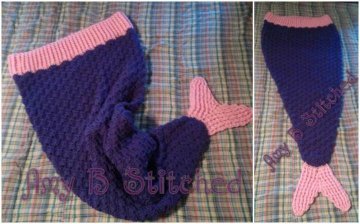 22 Free Crochet Mermaid Tail Blanket Patterns Diy Crafts