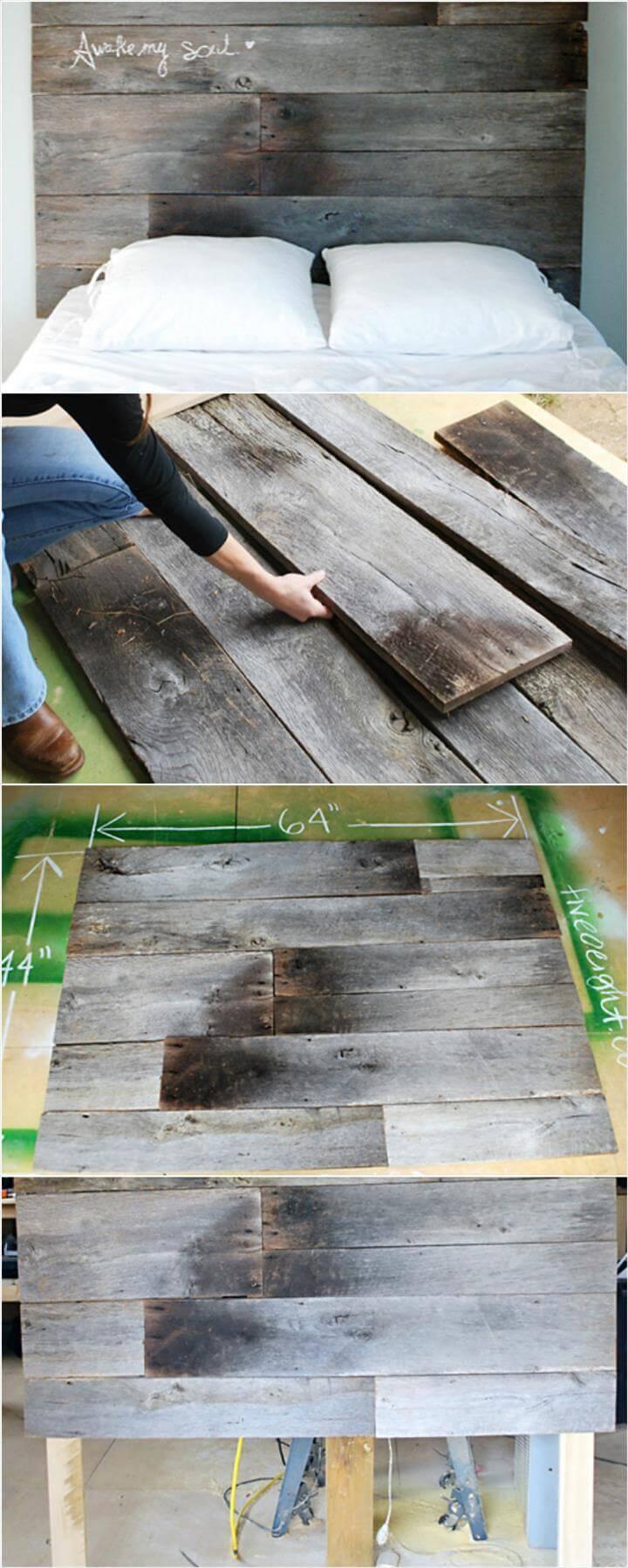 precious wooden headboard