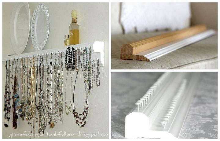 100 DIY Jewelry Organizers Storage Ideas Full Tutorials DIY