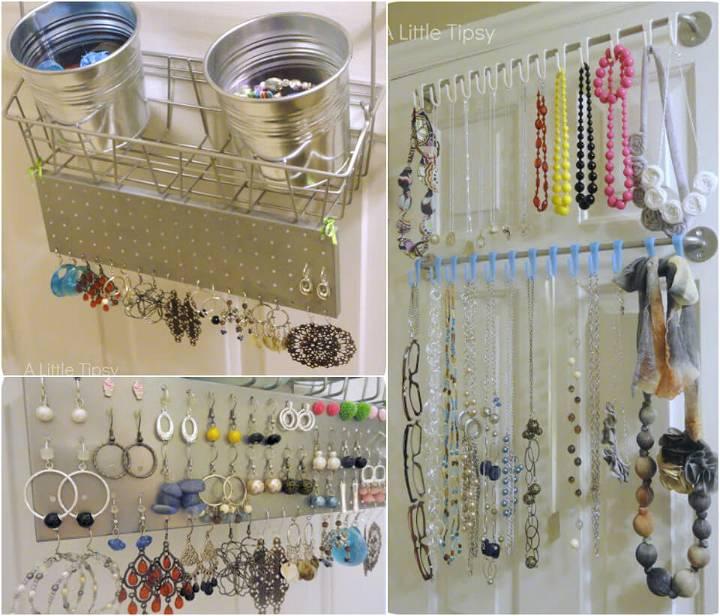 100 DIY Jewelry Organizers & Storage Ideas
