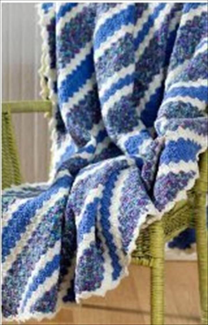 free crochet corner to corner throw or blanket pattern
