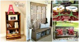 DIY Furniture Projects with Step by Step Plans
