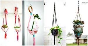 25 DIY Plant Hangers with Full Tutorials