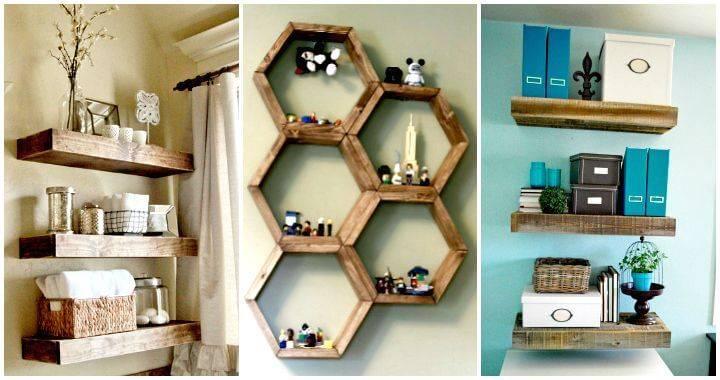 50 DIY Shelves – Build Your own Shelves
