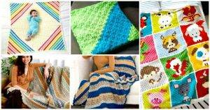 Free Corner to Corner Crochet Baby Blanket Patterns