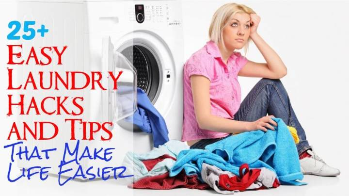 25+ Easy Laundry Hacks and Tips That Make Life Easier