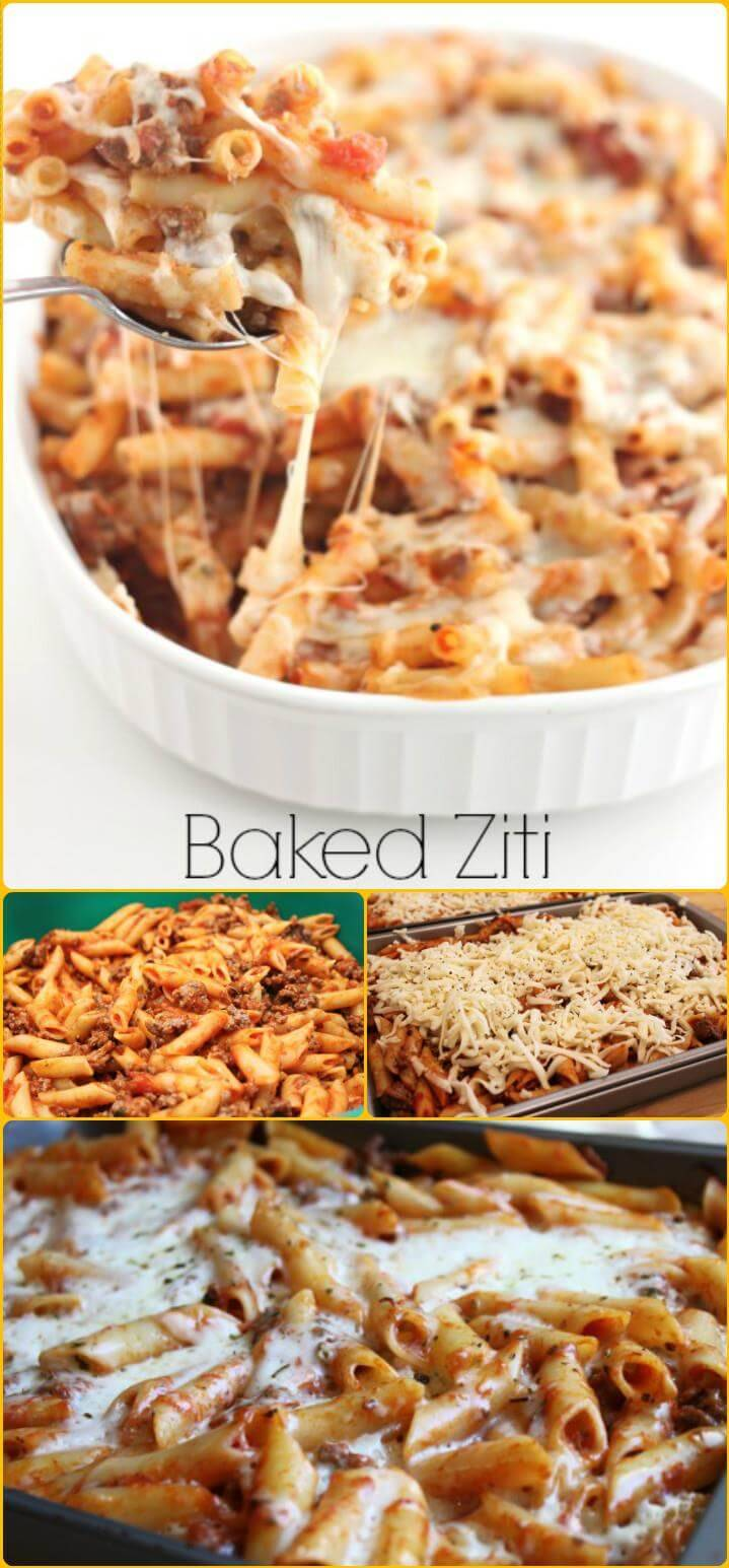 baked zitti crowd pleasing meal
