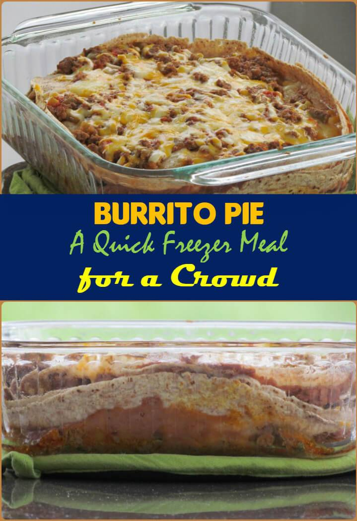 burrito pie crowd pleaser
