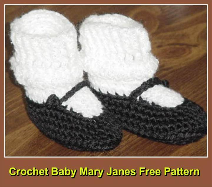 Top 40 Free Crochet Baby Booties Patterns Diy Amp Crafts