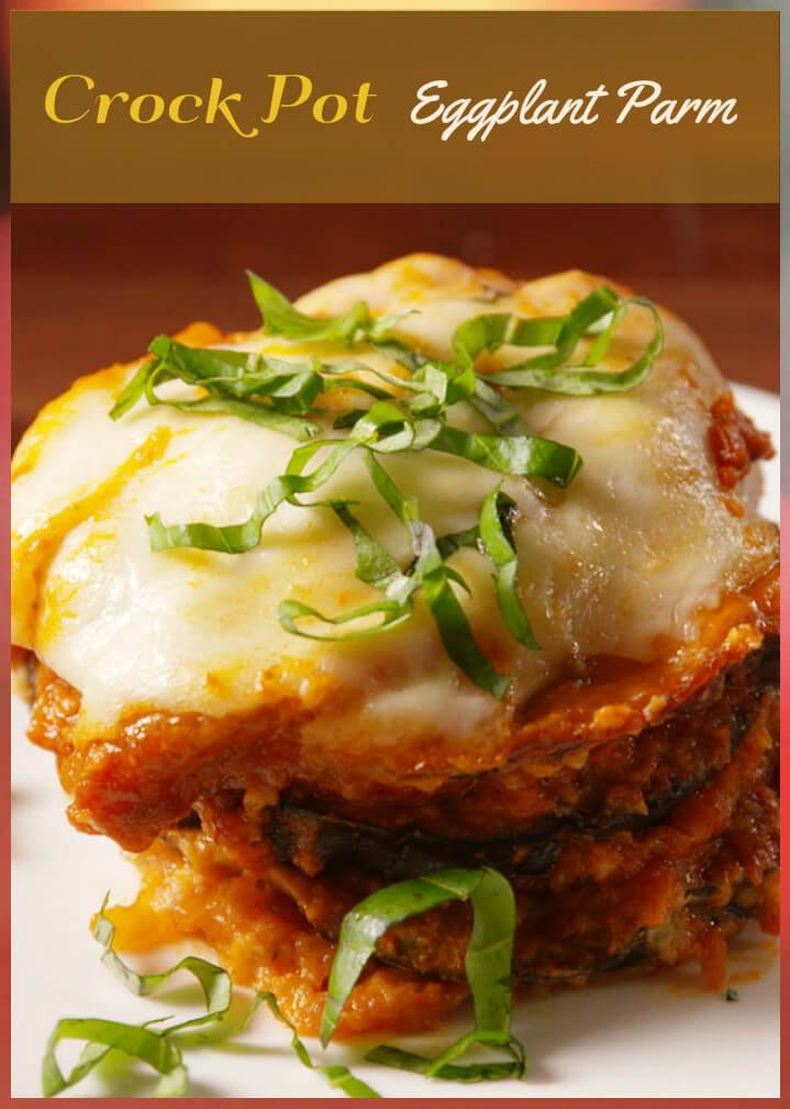 crock pot eggplant parm recipe