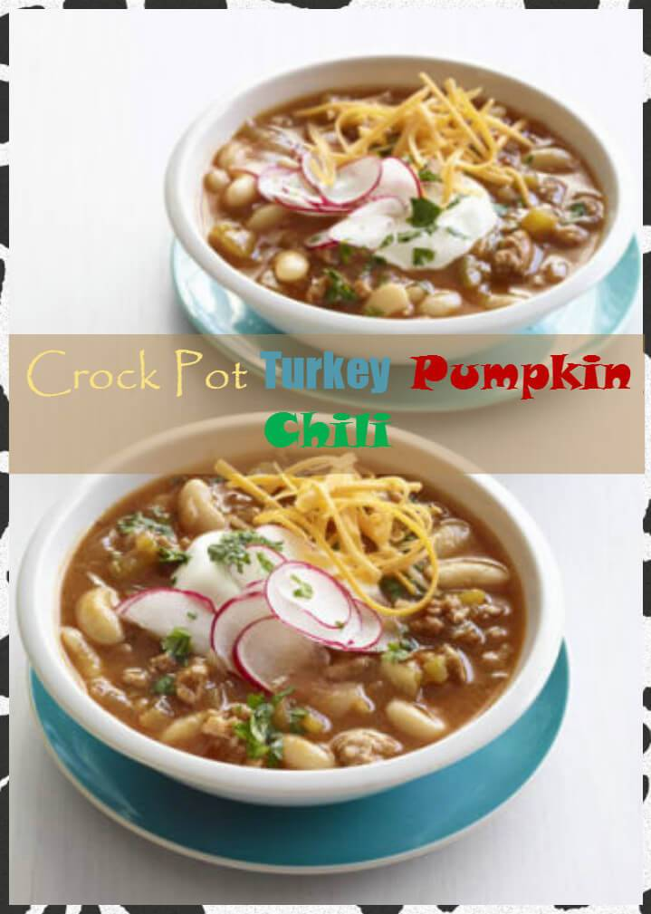 crock pot turkey pumpkin chili
