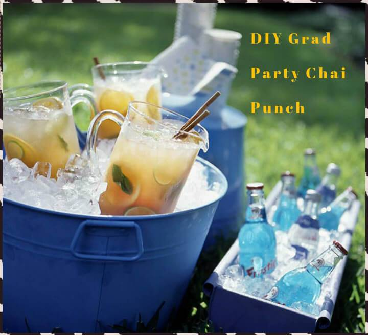 self-made graduation party chai punch