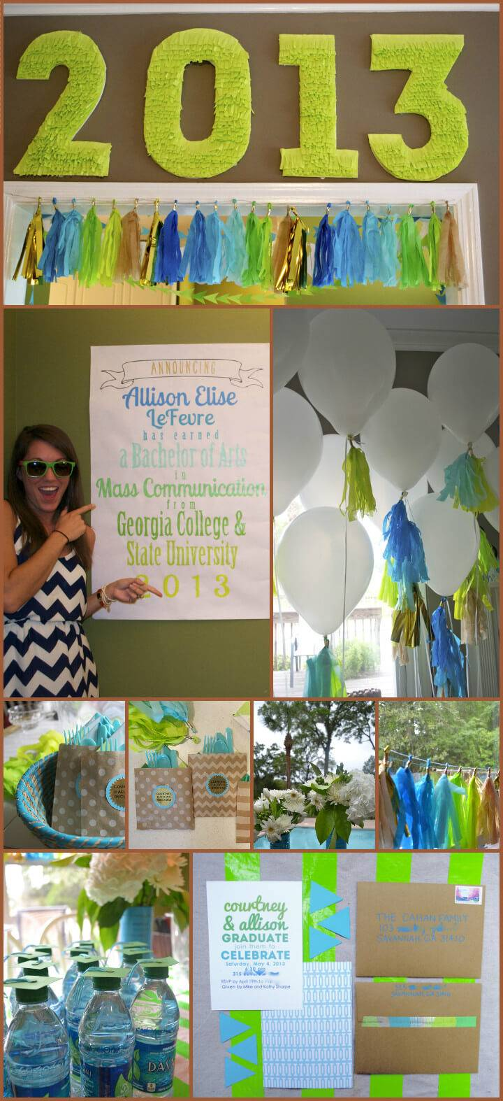 beautiful college graduation party theme