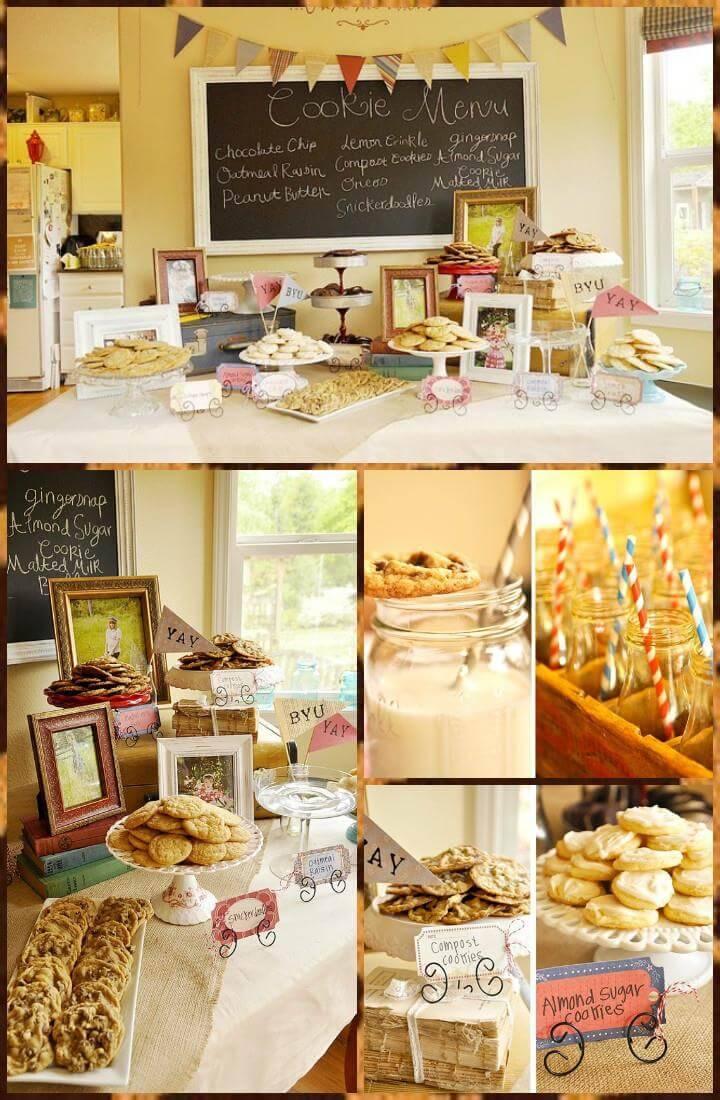 cookies graduation party theme