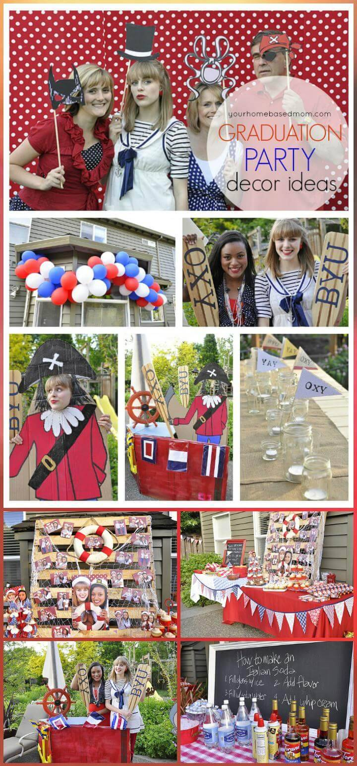 Graduation Theme Ideas: 50+ DIY Graduation Party Ideas & Decorations