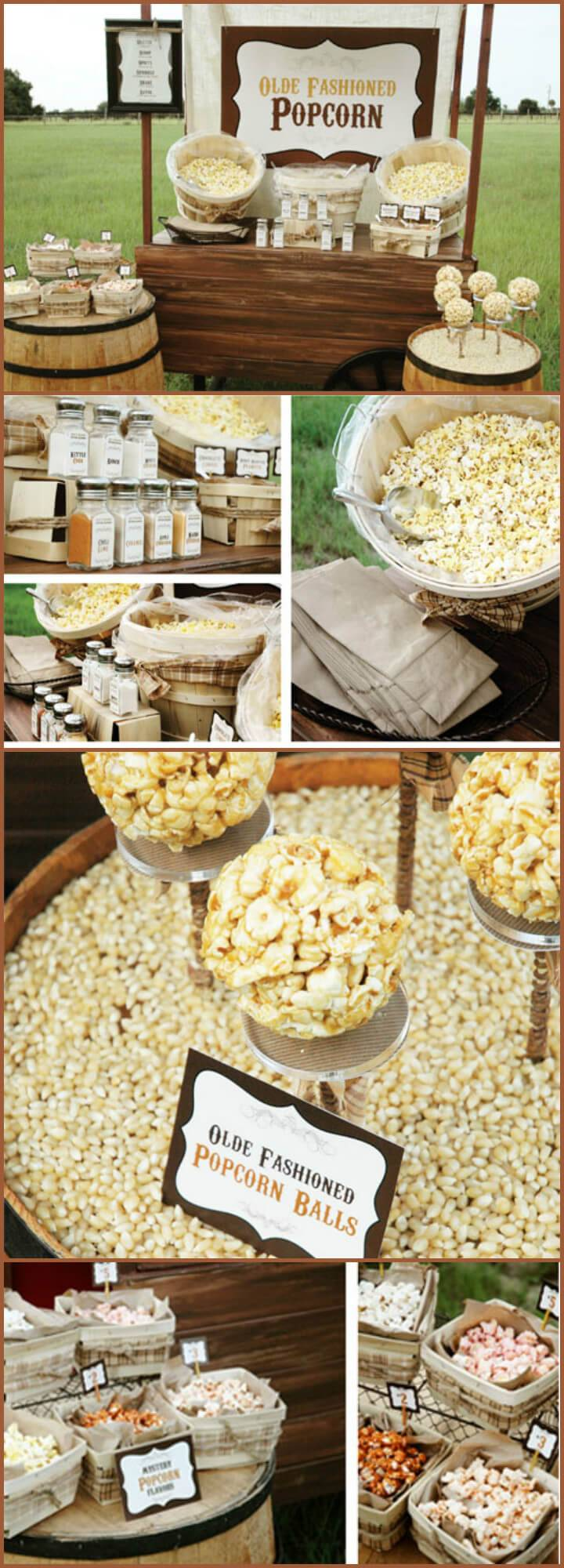 precious graduation party popcorn bar theme