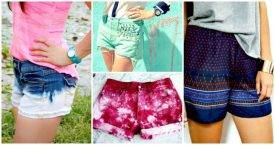 DIY Shorts to Enjoy Your Summer Fashionably - How to DIY Shorts