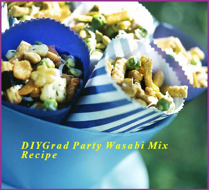 DIY graduation party wasabi mix recipe