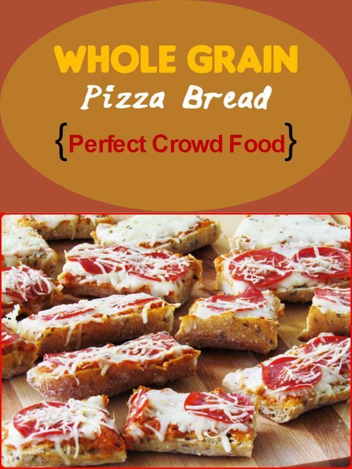 whole grain pizza breads