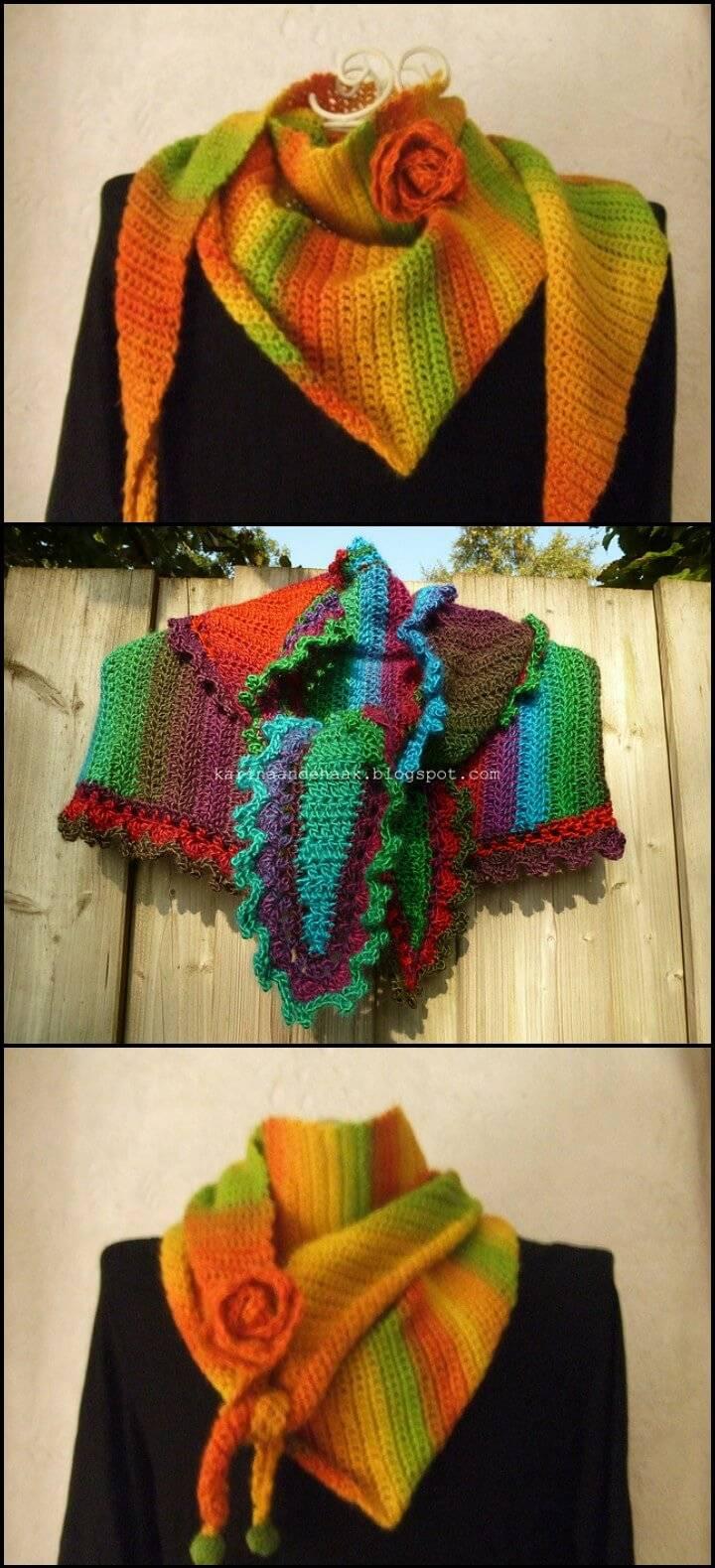 crochet baktus free pattern