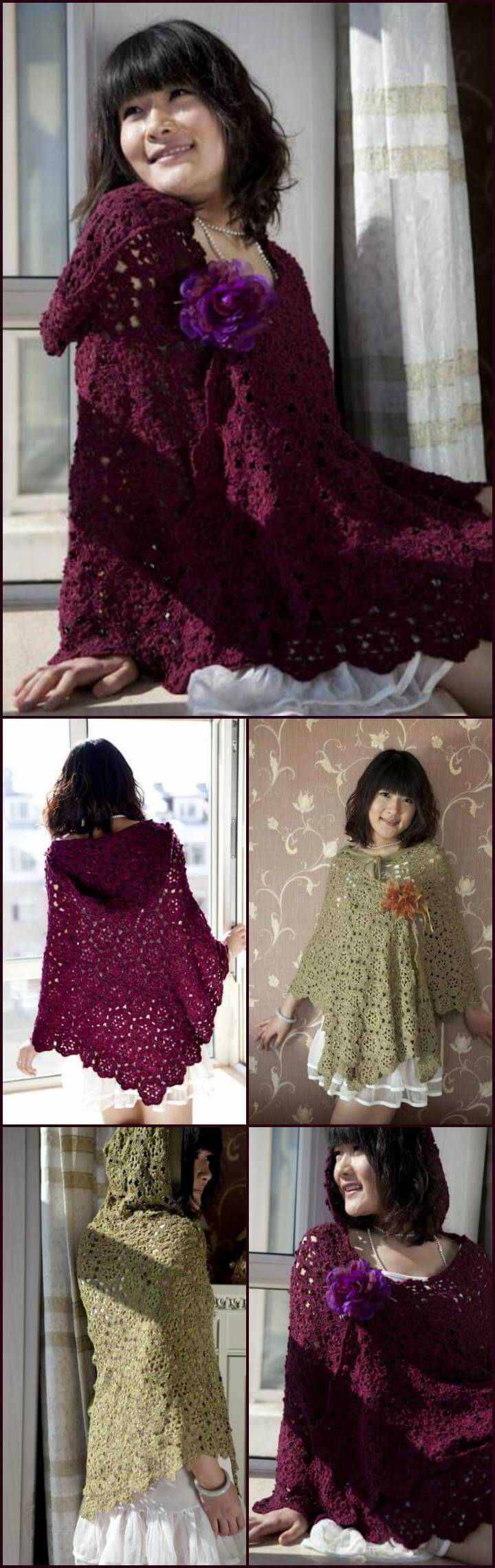 fashion-worthy Chinese poncho