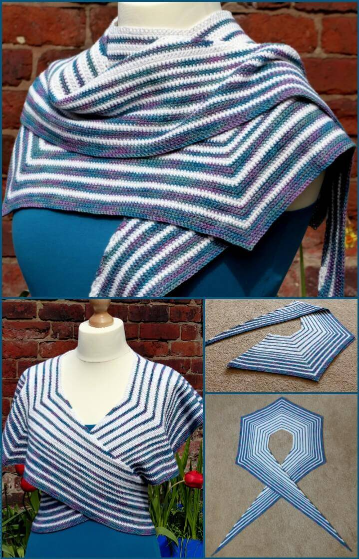 free pacific rim shawl pattern