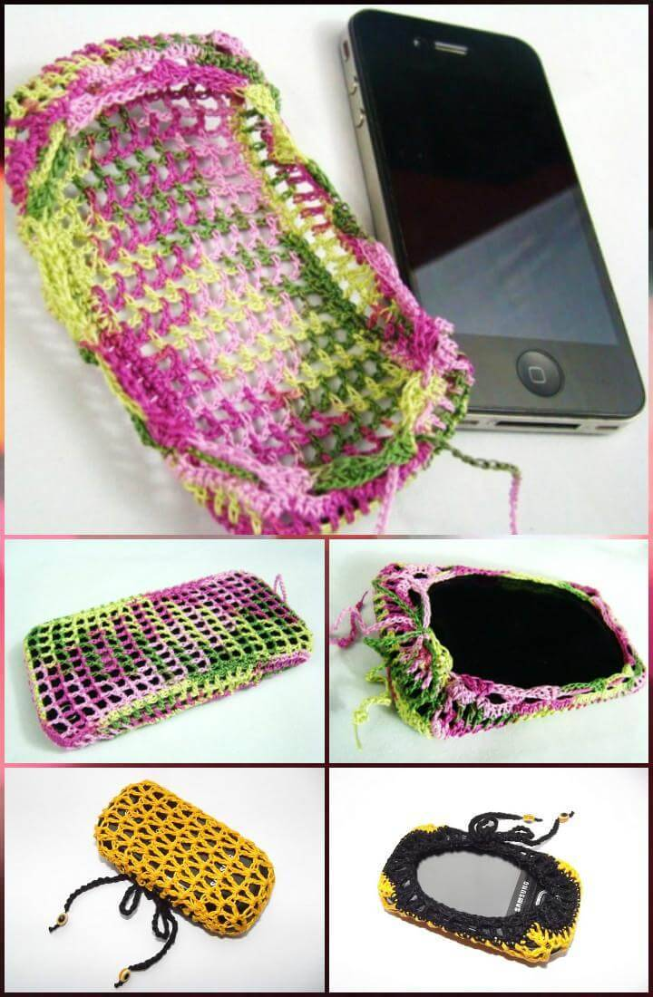 easy crochet protective cell phone cases