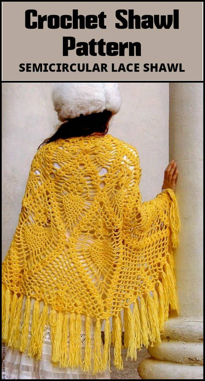 100 Free Crochet Shawl Patterns - Free Crochet Patterns