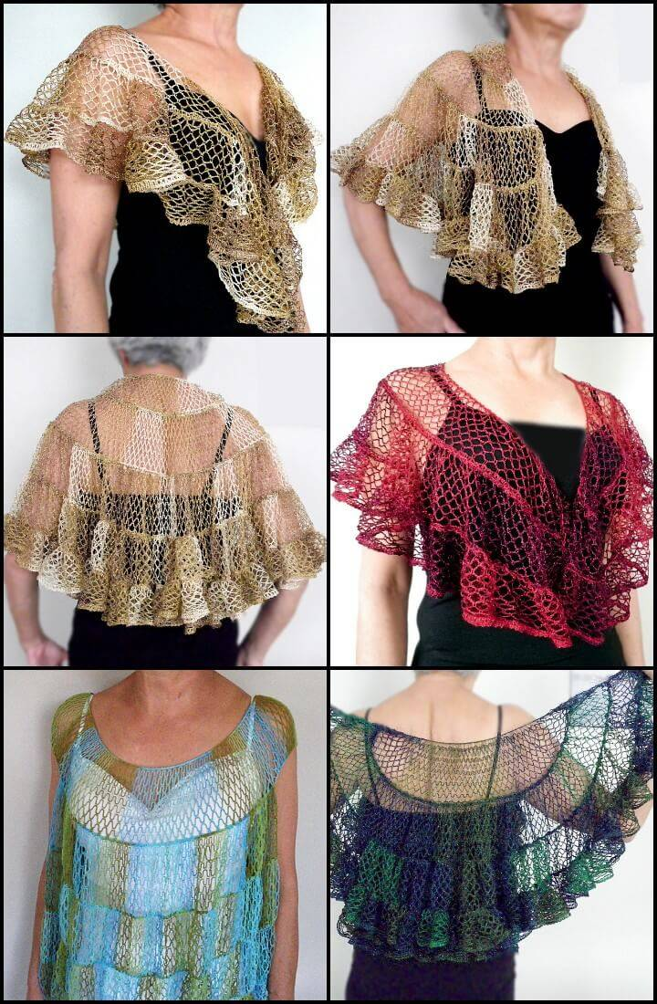 100 Free Crochet Shawl Patterns Free Crochet Patterns Diy Crafts